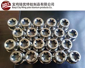 钛合金汽车轮廓螺栓
